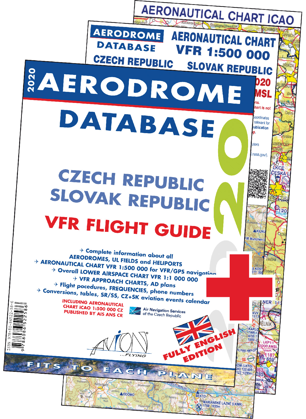 Aerodrome Database 2020, Czech Republic VFR Flight Guide - Full English Edition