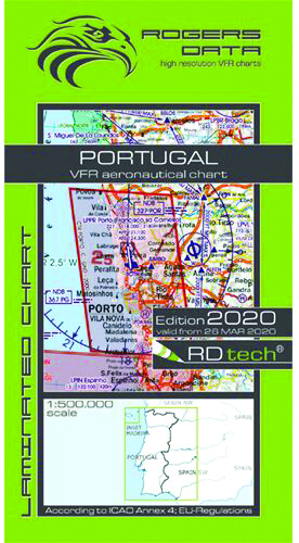 2020 Portugal VFR Charts 500k - RogersdataImage Id:149675