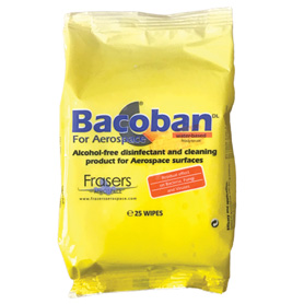 Bacoban for Aerospace Box of 10 Packs x 25 WipesImage Id:150322